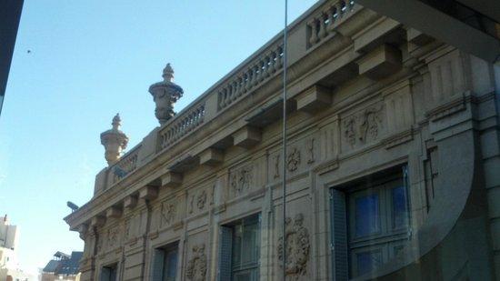 Museo Palacio Ferreyra: vista desde el balcon principal