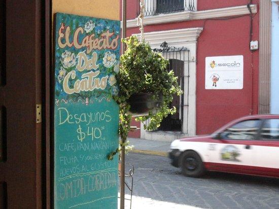 Hotel Posada del Centro : El Cafecito del Centro - buena opción para desayunar
