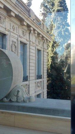 Museo Palacio Ferreyra: vista desde al balcon de arriba