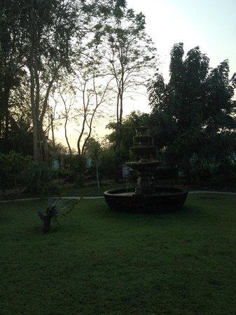 Ban Sabai Sabai: garden