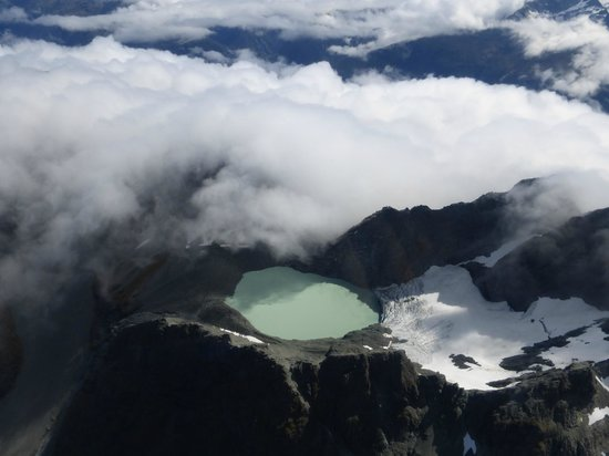 Glenorchy Air : View from plane