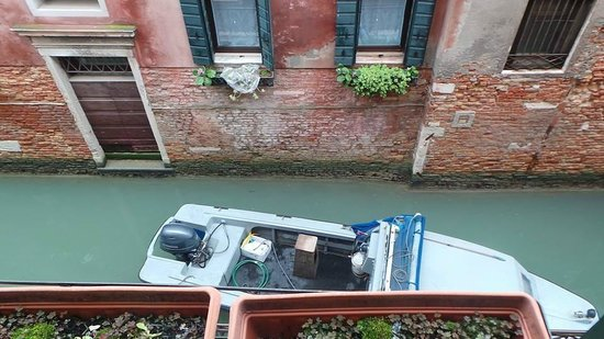 Locanda Canal: View from room
