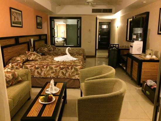 Sandos Playacar Beach Resort : Rivera Suite, 3rd floor, room 9341