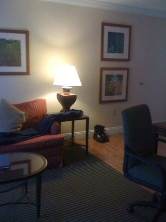 Homewood Suites by Hilton Melville - NY Hotel: Livingroom area in suite.
