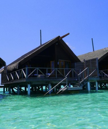 LUX* South Ari Atoll: overwater bungalow