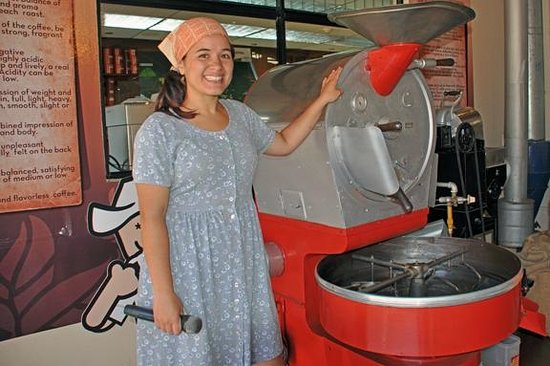 Britt Coffee Tour: Coffee roasting