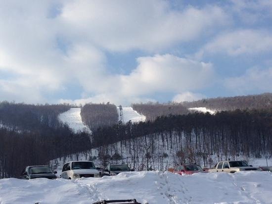 Whitetail Mountain Resort: the back slide diamonds
