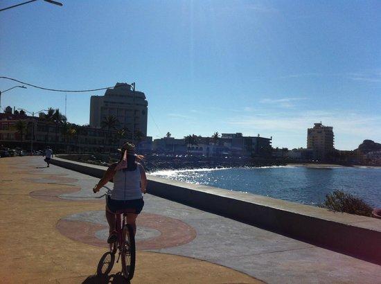 Sea Breeze Bike Rentals: Olas Altas is an easy going 25 minute ride away!