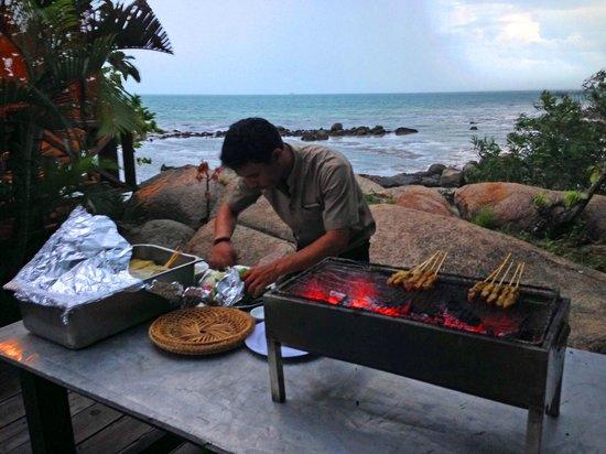 Turi Beach Resort : BBQ in spot