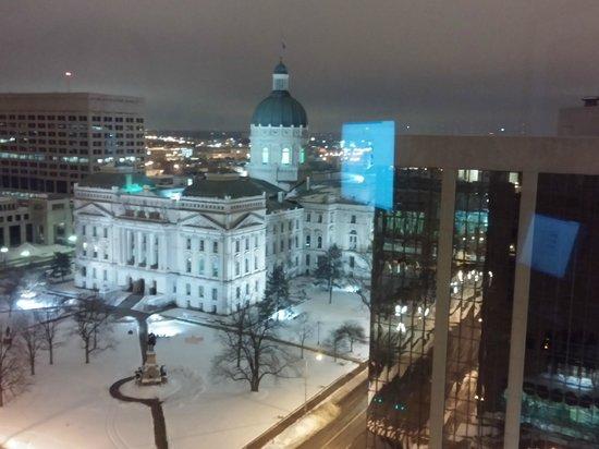 Hyatt Regency Indianapolis: The view