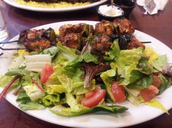 Sahaara Mediterrean Restaurant: chicken tawook