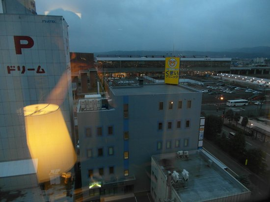 Court Hotel Asahikawa: View from our room