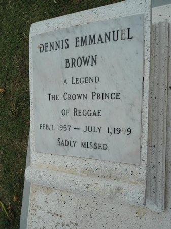 National Heroes Park : Dennis Brown