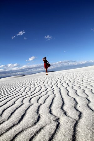 White Sands National Monument: White Sands- perfect place for good photo sessions.