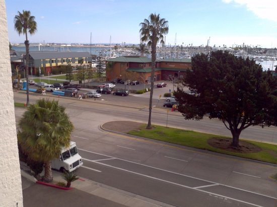 BEST WESTERN Yacht Harbor Hotel : view from room