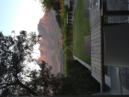 Equus Restaurant at Cavalli Stud and Wine Farm : Great view