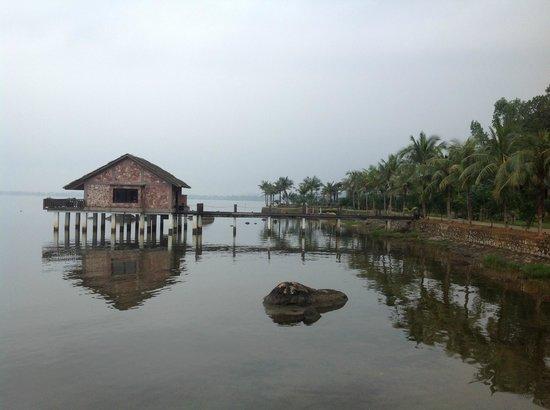 Vedana Lagoon Resort & Spa: View of Villa 1 and Beyond.....