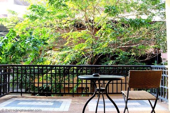 Piman Garden Hotel: Balcony