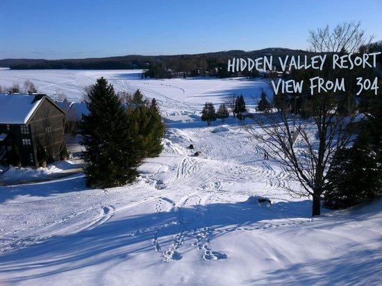 Hidden Valley Resort, view from 304