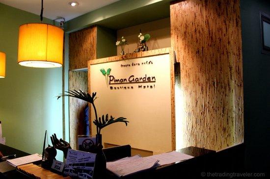 Piman Garden Hotel: Lobby