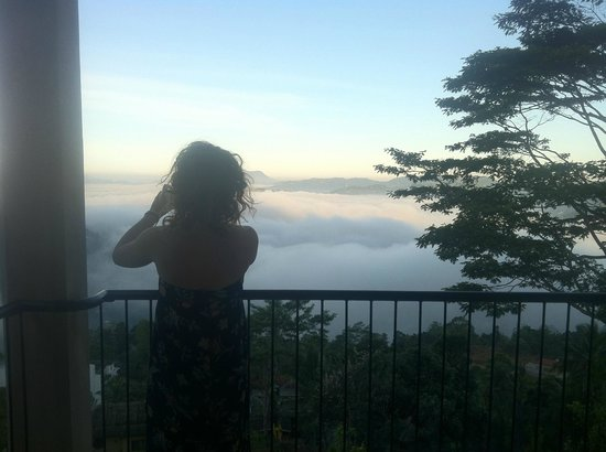 Randholee Resort & Spa : View from Room 206 - above the clouds