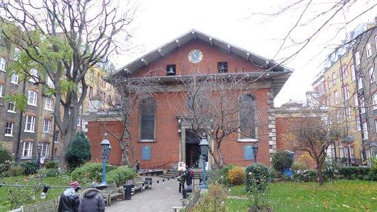 St. Paul's Church (The Actors' Church) : St. Paul's Church at Covent Garden