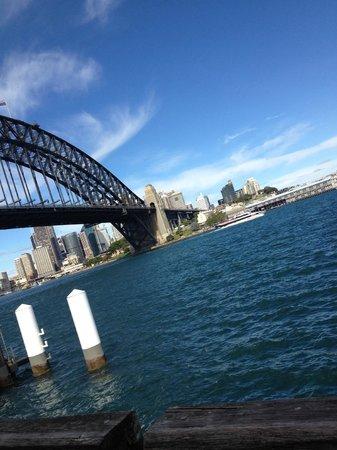 Sydney Harbour Bridge: View from Luna Park