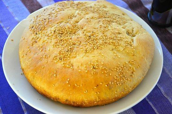 Kalapiti Luxury Jungle Suites: Freshly baked bread