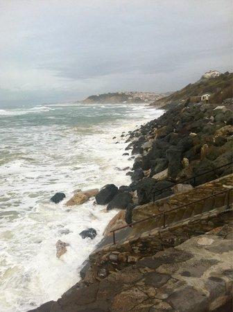 Villa Catarie Hotel: No surfing today