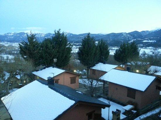 Cerdanya EcoResort: vistas desde bungalow moixero