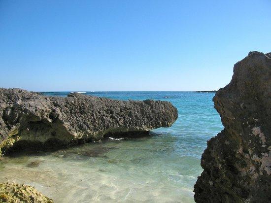 Grand Sirenis Riviera Maya Resort & Spa: Bay at the north end