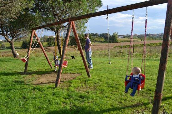 Agriturismo Le Baccane: Swinging