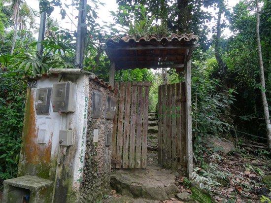 Pousada Ouro Verde : Вход в поусаду