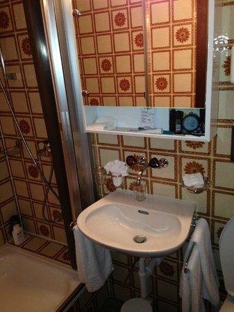 Hotel-Restaurant Bellevue: Bathroom