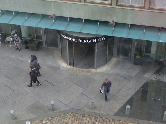 Scandic Bergen City : 2 bygning av hotellet