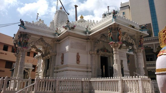 Jain temple at GN Chetty road