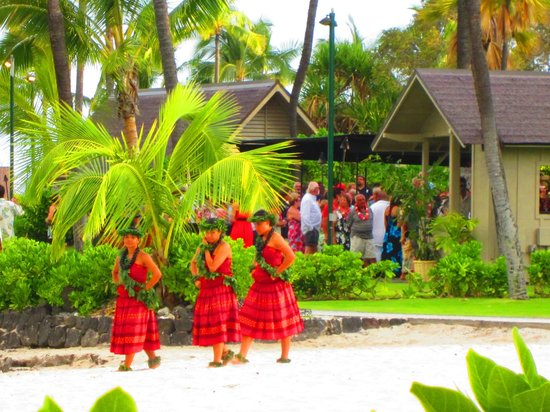 Courtyard King Kamehameha's Kona Beach Hotel: Hotel grounds