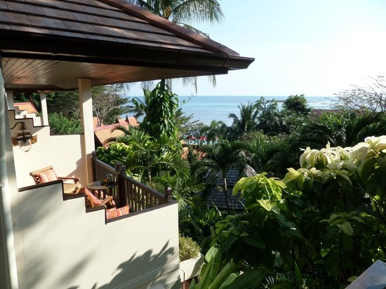 Rocky's Boutique Resort: view from room
