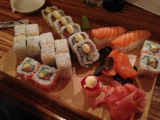 Lemon Butta Hermanus: Sushi