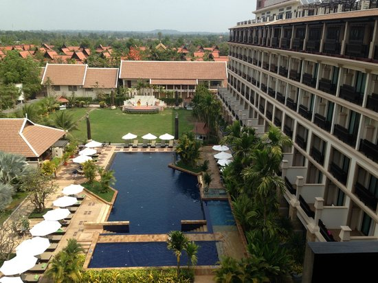 Angkor Miracle Resort & Spa: awesome view