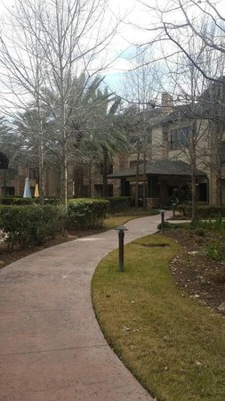 The Woodlands Resort & Conference Center: Waterscape Entrance