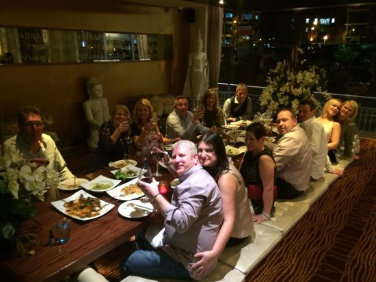 Chaophraya and Palm Sugar Lounge - Leeds: Fab night in private dining room