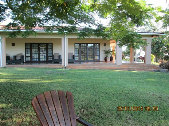 Abangane Guest Lodge: Kamer uiterst rechts is voorkeur-kamer
