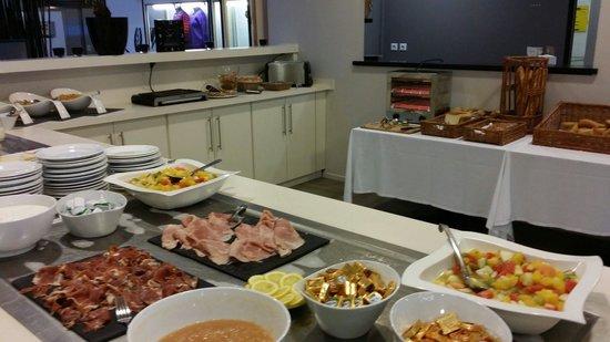 Atlanthal : Buffet petit déjeuner