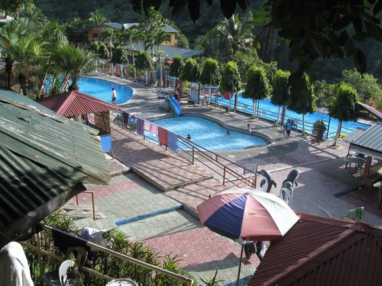 Baguio, Philippines : View of Riverview Water Park.