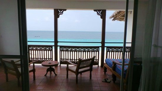 Royal Zanzibar Beach Resort: Amazing ocean view fm our suite.