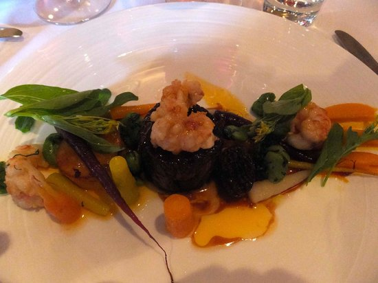 The Grove: Veal & scampi w/ morels