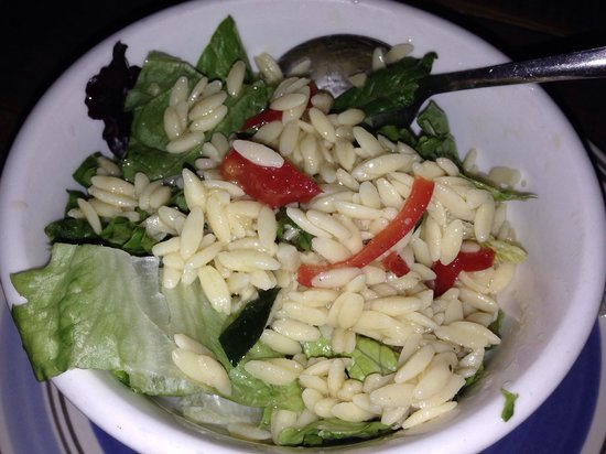 Gypsy Den: Orzo salad...good once I added more lemon