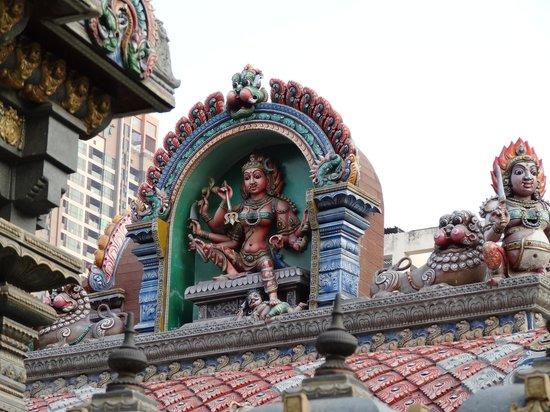 Sri Mariam Man Temple: Le temple