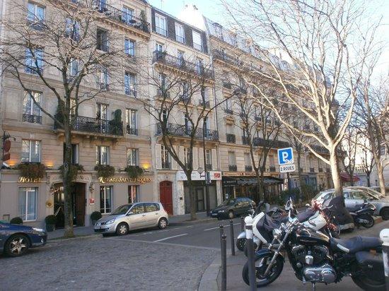 Relais Saint-Jacques: Rue